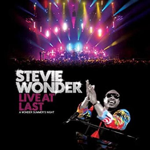 STEVIE WONDER - LIVE AT LAST BLU-RAY