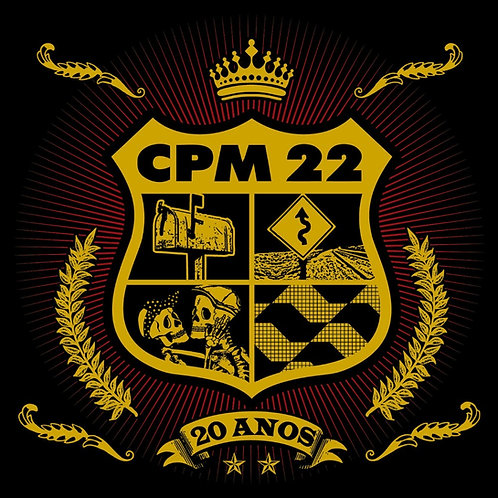 CPM 22 - 20 ANOS CD