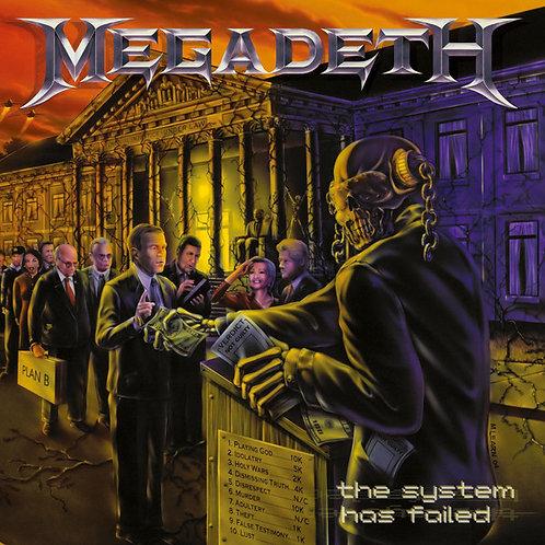MEGADETH - SYSTEM HAS FAILED CD