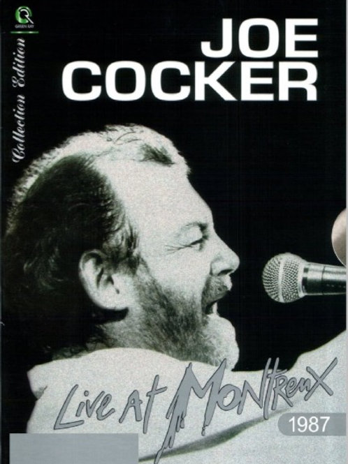 JOE COCKER - LIVE AT MONTREUX 1987 DVD