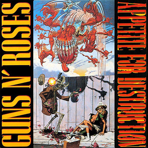 GUNS N´ ROSES - APPETITE FOR DESTRUCTION CD