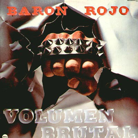 BARON ROJO - VOLUMEN BRUTAL CD
