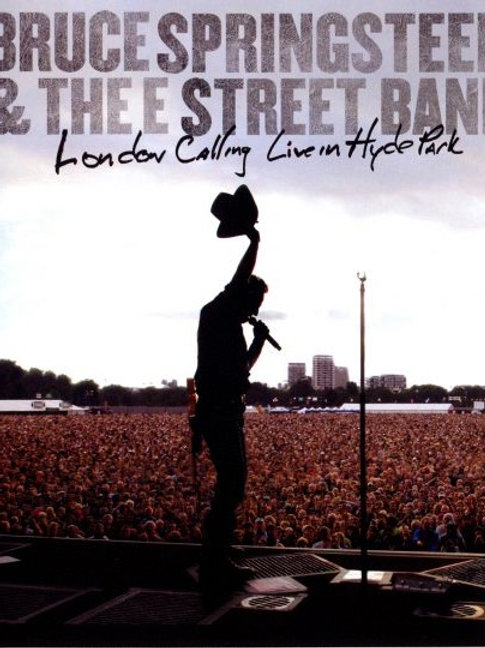 BRUCE SPRINGSTEEN - LONDON CALLING LIVE IN HYDE PARK BLU-RAY