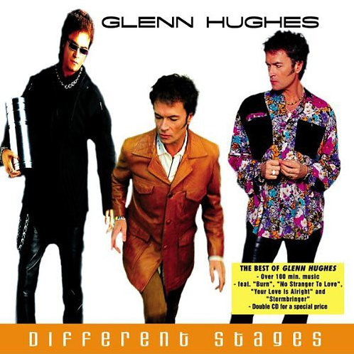 GLENN HUGHES - DIFFERENT STAGES CD