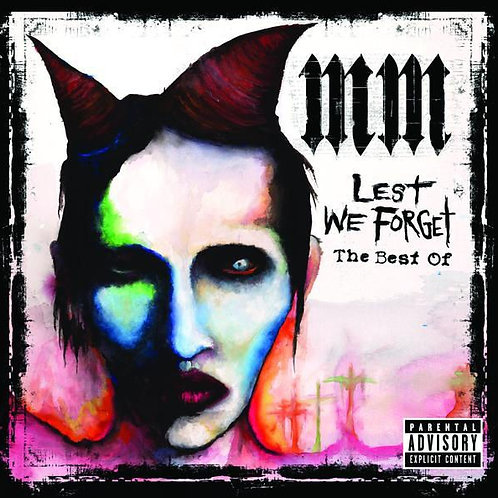 MARILYN MANSON - LEST WE FORGET THE BEST OF CD