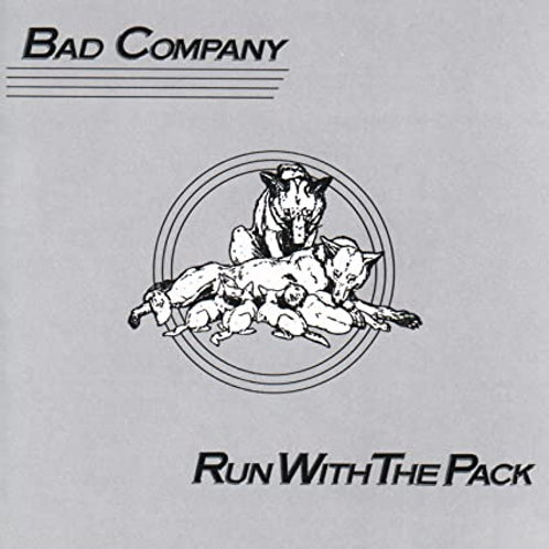BAD COMPANY - RUN WITH PACK CD