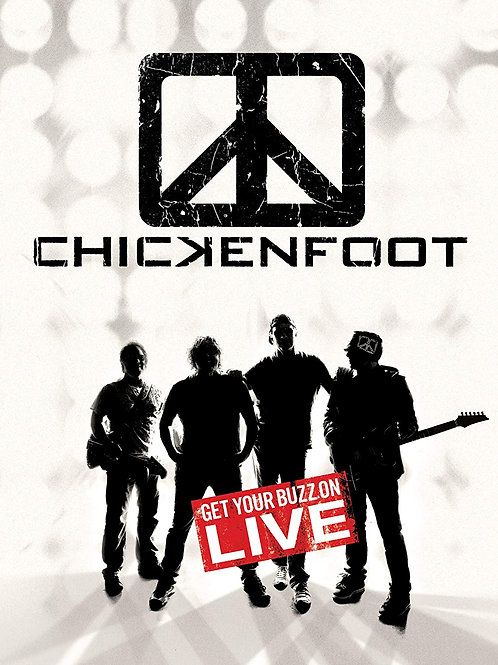 CHICKENFOOT - GET YOUR BUZZON LIVE DVD