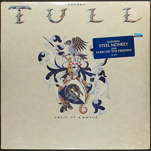 JETHRO TULL - CREST OF A  KNAVE LP