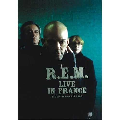 R.E.M. LIVE IN FRANCE DVD