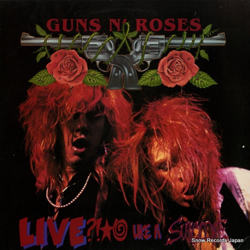 GUNS N´ ROSES - LIVE LIKE A SUICIDE CD