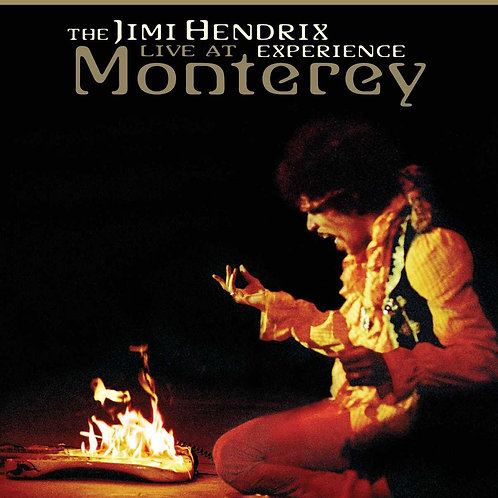 THE JIMI HENDRIX - LIVE AT EXPERIENCE MONTEREY BLU-RAY