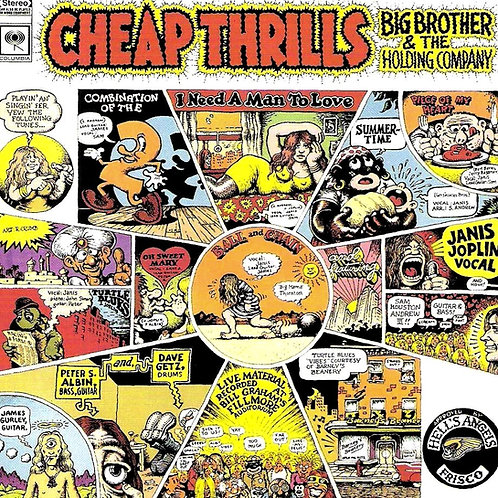 CHEAP THRILLS - BIG BROTHER & THE HOLDING COMPANY CD