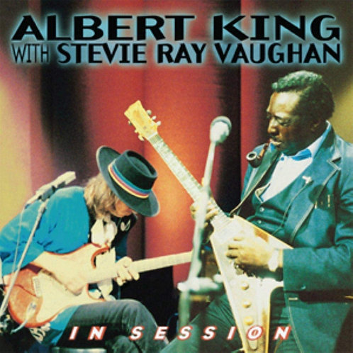 ALBERT KING WITH STEVIE RAY VAUGHAN - IN SESSION CD