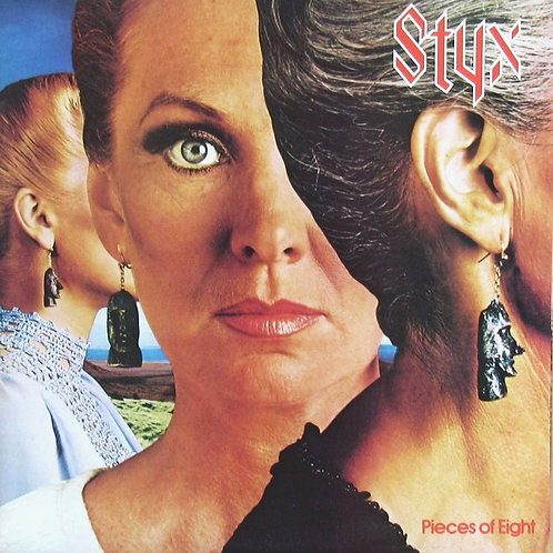 STYX - PIECES OF EIGHT LP