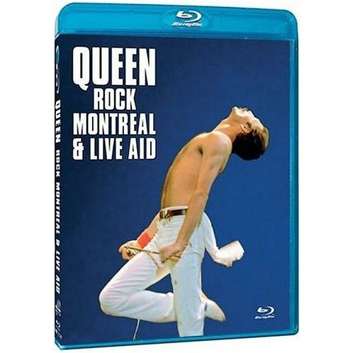 QUEEN - ROCK MONTREAL & LIVE AID  BLU RAY