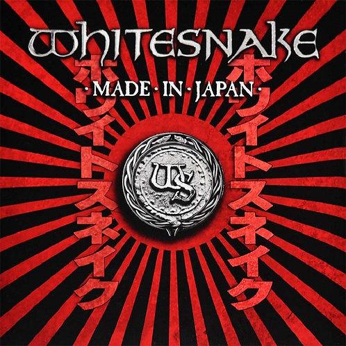 WHITESNAKE - MADE IN JAPAN DUPLO CD+DVD