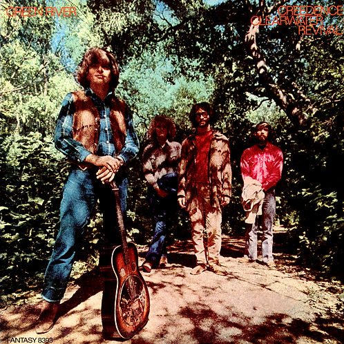 CREEDENCE CLEARWATER REVIVAL -GREEN RIVER LP