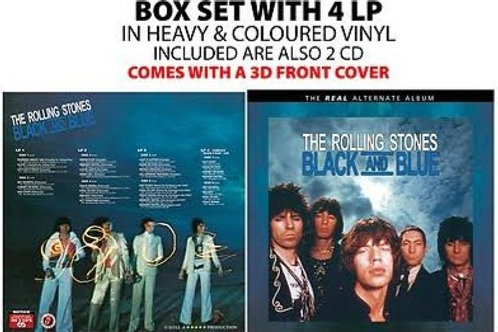 THE ROLLING STONES - BLACK AND BLUE BOX SET LP