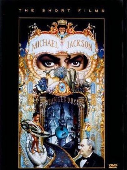 MICHAEL JACKSON - DANGEROUS THE SHORT FILMS DVD