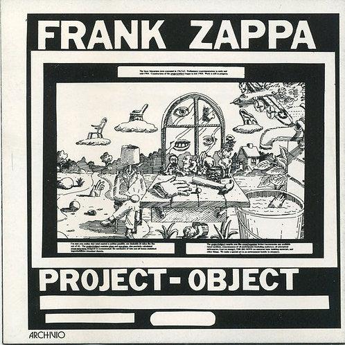 FRANK ZAPPA - PROJECT OBJECT CD