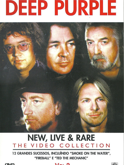 DEEP PURPLE - NEW, LIVE & RARE THE VIDEO COLLECTION VOL.2 DVD