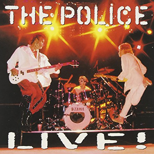 THE POLICE - LIVE! DUPLO CD