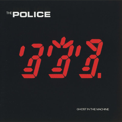 THE POLICE - GHOST IN THE MACHINE CD