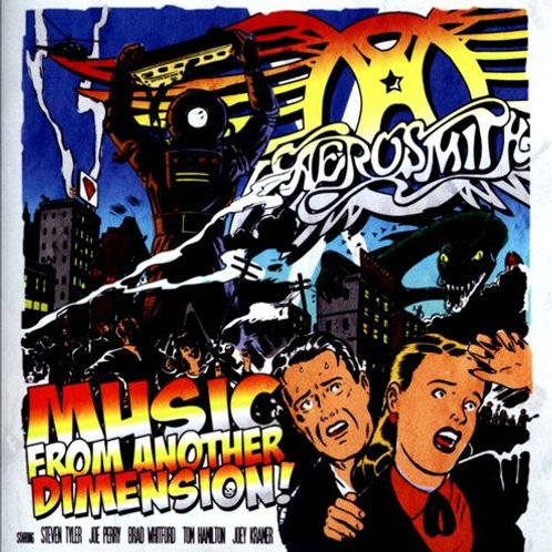 AEROSMITH - MUSIC FROM ANOTHER DIMENSION ! CD