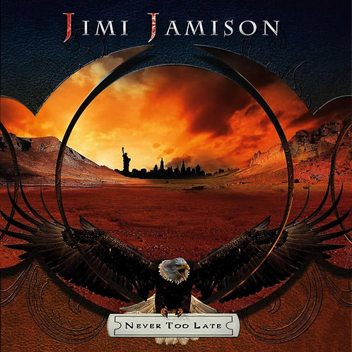 JIMI JAMISON - NEVER TOO LATE CD