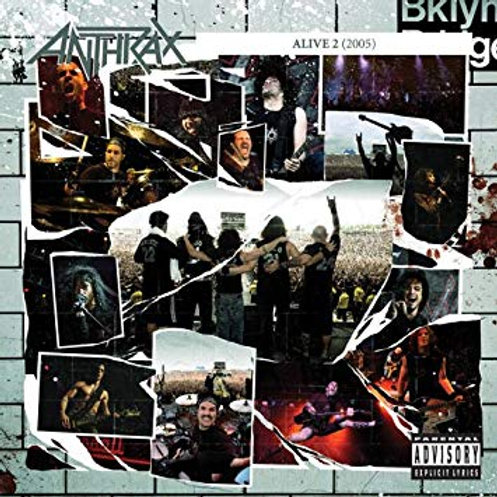 ANTHRAX - ALIVE 2 CD