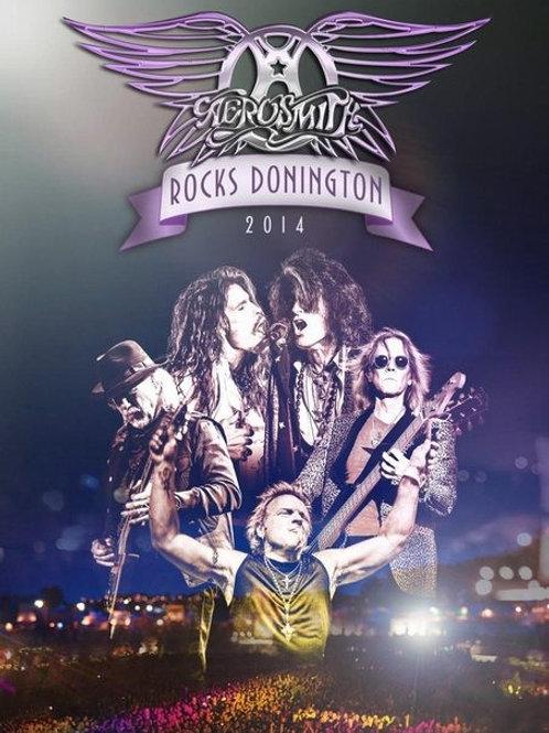 AEROSMITH - ROCKS DONINGTON 2014 DVD