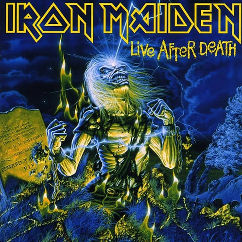 IRON MAIDEN - LIVE AFTER DEATH CD DUPLO DIGIPACK
