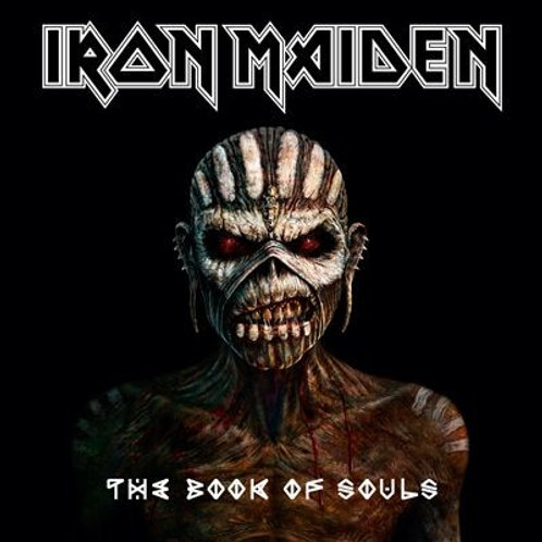 IRON MAIDEN - THE BOOK OF SOULS DUPLO CD