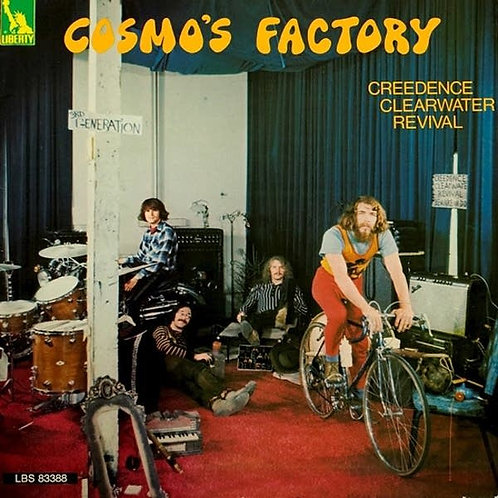 CREEDENCE CLEARWATER REVIVAL - COSMOS FACTORY CD