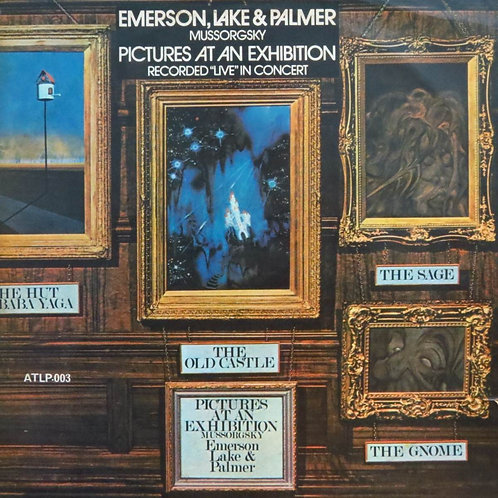 EMERSON LAKE E PALMER - PICTURES AT AN EXHIBITION LP