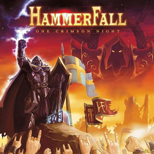 HAMMERFALL - ONE CRIMSON NIGHT DUPLO CD