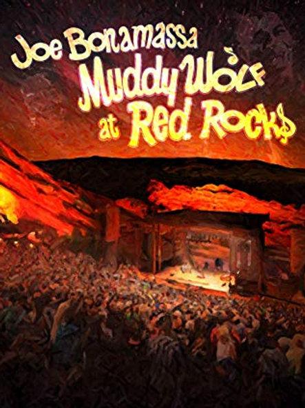 JOE BONAMASSA - MUDDY WOLF AT RED ROCKS DVD
