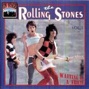 ROLLING STONES vol1. WAITING ON A FRIEND CD