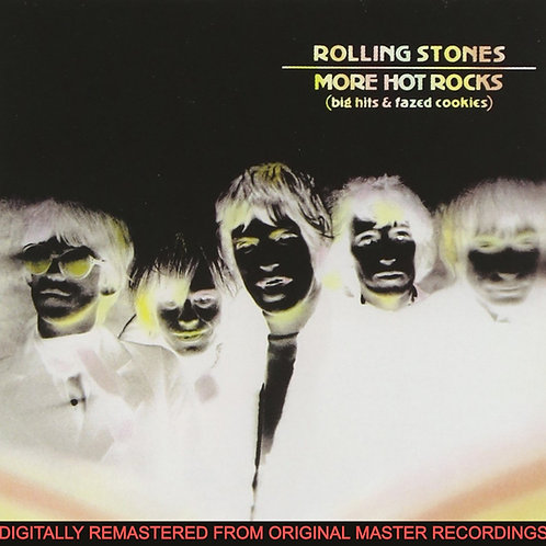 THE ROLLING STONES - MORE HOT ROCKS DUPLO CD BOX