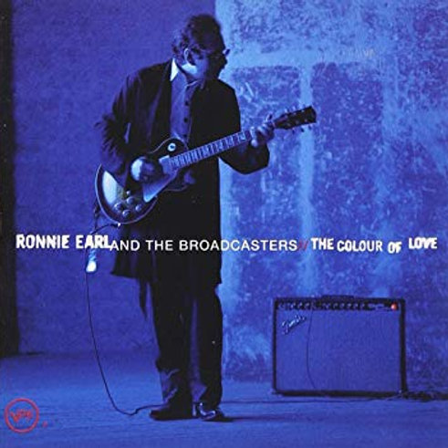 RONNIE EARL - AND THE BROADCASTERS THE COLOUR OF LOVE CD