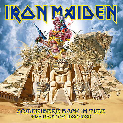 IRON MAIDEN - SOMEWHERE BACK IN TIME: 1980 / 1989 CD