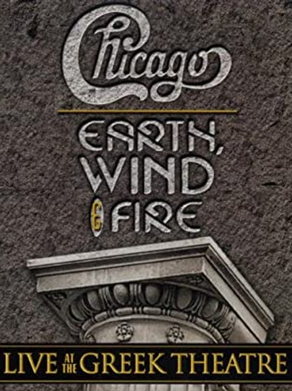 CHICAGO & EARTH, WIND, FIRE - LIVE AT THE GREEK THEATRE BLU RAY