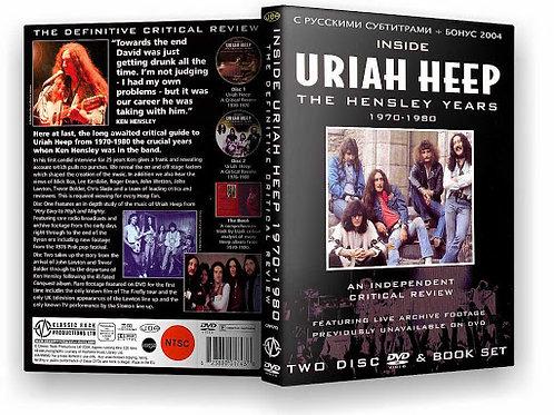 URIAH HEEP - THE HENSLEY YEARS DVD BOOK SET