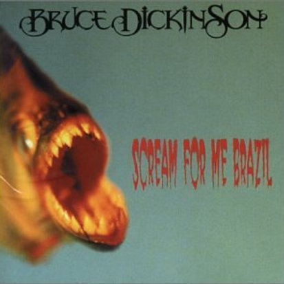 BRUCE DICKINSON - SCREAM FOR ME BRAZIL CD