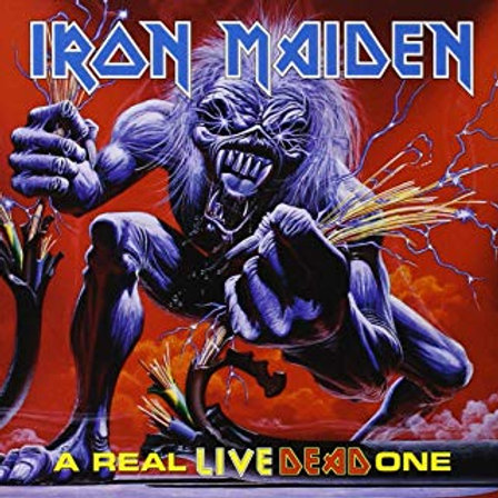 IRON MAIDEN - A REAL LIVE ONE LP