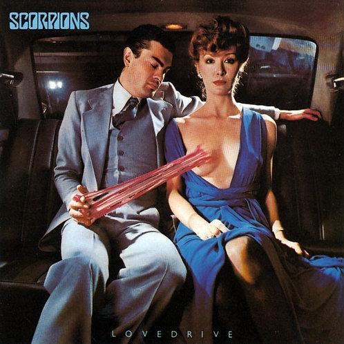SCORPIONS - LOVEDRIVE CD