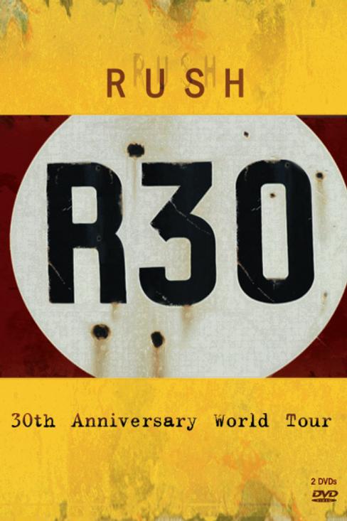 RUSH - R30 DVD
