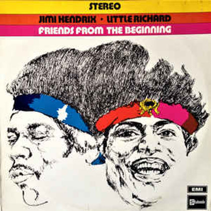 JIMI HENDRIX - FRIENDS FROM THE BEGINNING LP