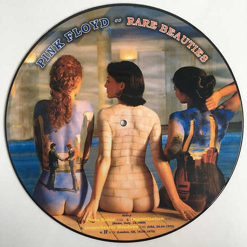 PINK FLOYD - RARE BEAUTIES PICTURE DISC LP