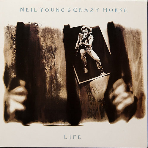 NEIL YOUNG & CRAZY HORSE - LIFE LP
